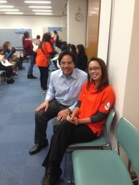 With Consul Jerome Castro